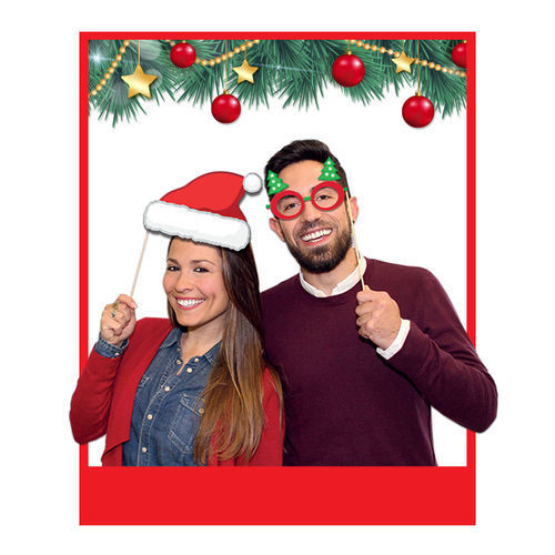 Photo Booth Buon Natale 8 pz