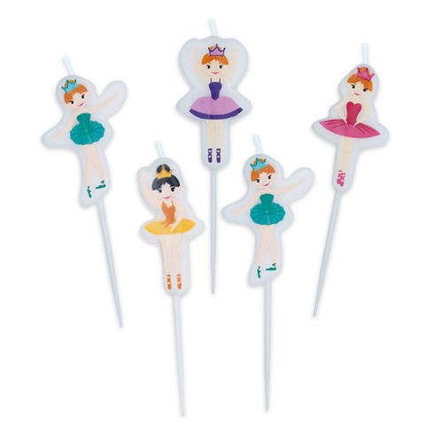 Candeline Picks I Love Ballet 5 pz