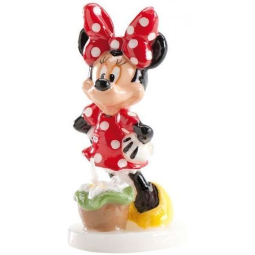 Candelina 3D Minnie 9,5 cm H