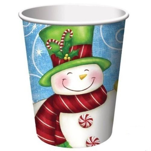 Bicchieri 266 cc Wintertime Greetings 8 pz