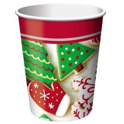 Bicchieri 266 cc Holiday Treats 8 pz