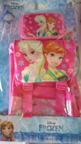 School Pack Zaino+Astuccio Frozen
