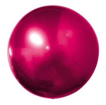 Palloncino Bobo Chrome 32'' 81 cm Bordeaux