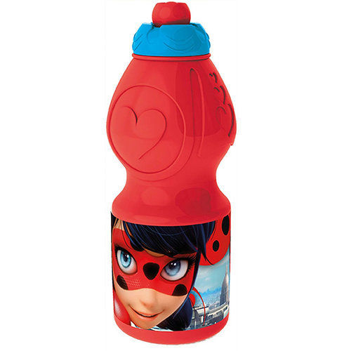Borraccia in plastica 400 ml Ladybug Miraculous
