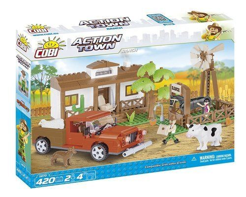Action Town Ranch 420 pz