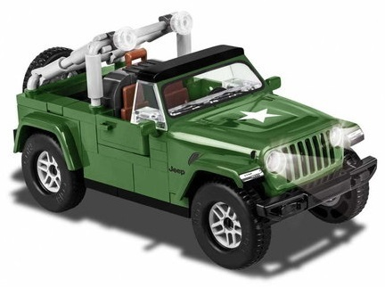 Jeep Wrangler Military Scala 1:35 - 98 pz