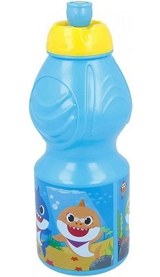Borraccia in plastica 400 ml Baby Shark