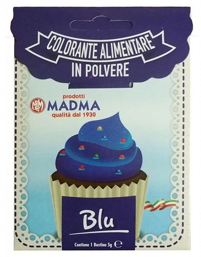 Colorante in polvere da 5 gr Blu