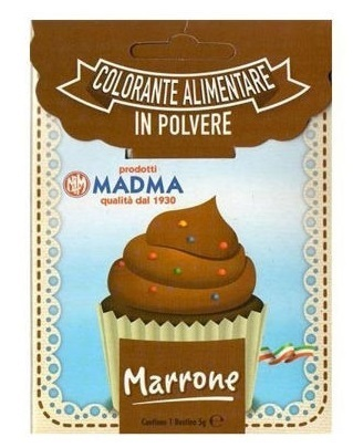 Colorante in polvere da 5 gr Marrone