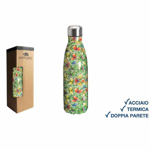 Borraccia Termica 500 ml Farfalla